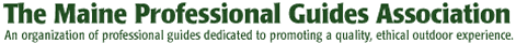 Maine Professional Guides Association Logo