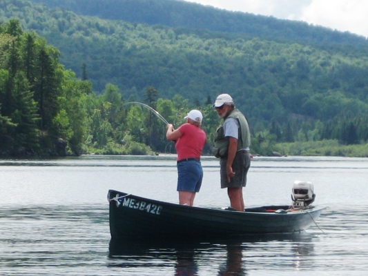 Registered maine guides for Fishing resorts near me
